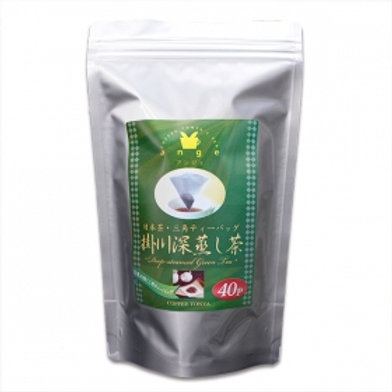 Coffee Tonya Original Tetra Tea Bag (Kakegawa Deep Steamed Green Tea) 2gx40 bags