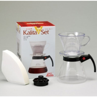 Kalita 102-D Set N (Resin Dripper & Glass Server)