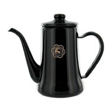 TUKIUSAGIJIRUSI Enamel Slim Pot 0.7L (Black)