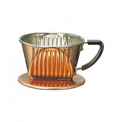 Kalita Copper Coffee Dripper 101-CU