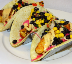 Blackened Mahi Tacos