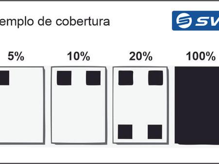 ¿Qué significa el 5% de cobertura de impresión?