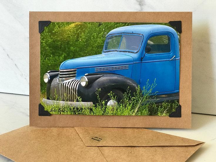 Blue Truck - Ojo Caliente