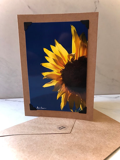 Hello Sunshine - Sunflower/Blue Sky