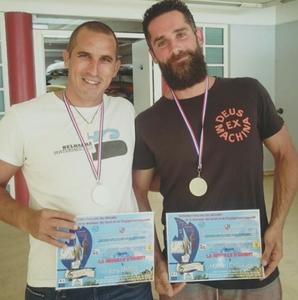 Boris Martin et Mathieu Chevallier médaillés
