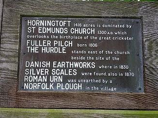 Horningtoft Village Sign