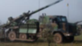 Caesar 6x6 munitions