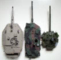 Tourelle merkava mk IV, leopard 2a6 et T-90