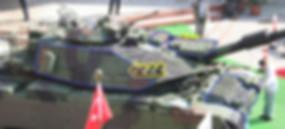 Différents modules de protection du Sabra Mk II