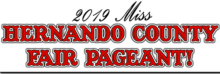 HERNANDO COUNTY PAGEANT!