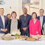 김진덕・정경식 재단 관계자들, 샌프란시스코 시의회 샤만월튼 의장 후원회 참석