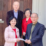 오클랜드한인연합감리교회 역사박물관에 후원금 전달