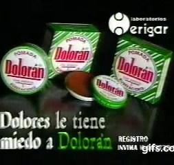 Comercial Doloran 1989