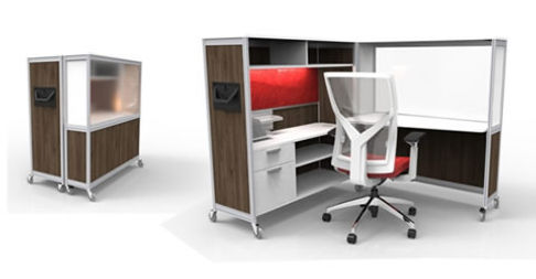Stupendous New Mobile Workstation Indoff Office Furniture And Download Free Architecture Designs Remcamadebymaigaardcom