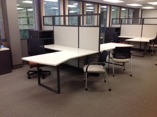 CAI office furniture installation in Raleigh, NC