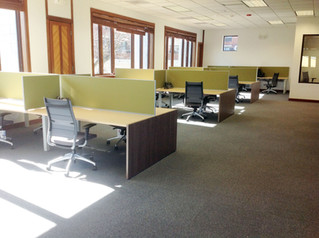 AIS - Oxygen Office furniture installation