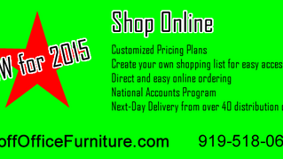 New for 2015 Online Ordering