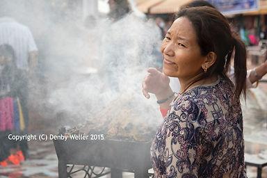 Buddhist woman, Kathmandu