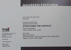 Scratching the Surface @ The Fine Art Gallery in Milwaukee