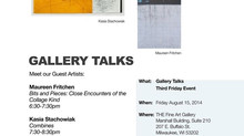 Artist Talk @ The Fine Art Gallery