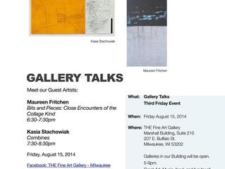 Artist Talk @ The Fine Art Gallery