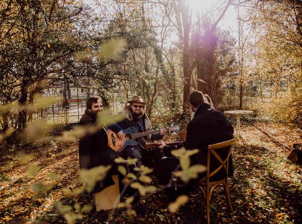 Quartett sitzen