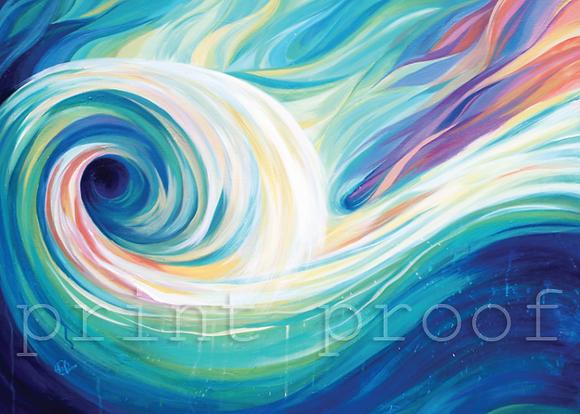 Ocean Water Artwork Trio