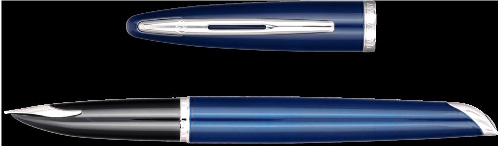 waterman-carene-fountain-pen-blue-obsession-side-POP