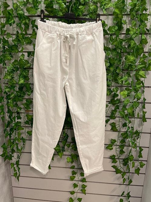 White magic trousers  plus