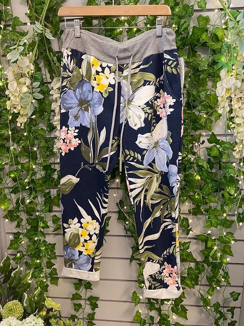 Jungle print magic trousers