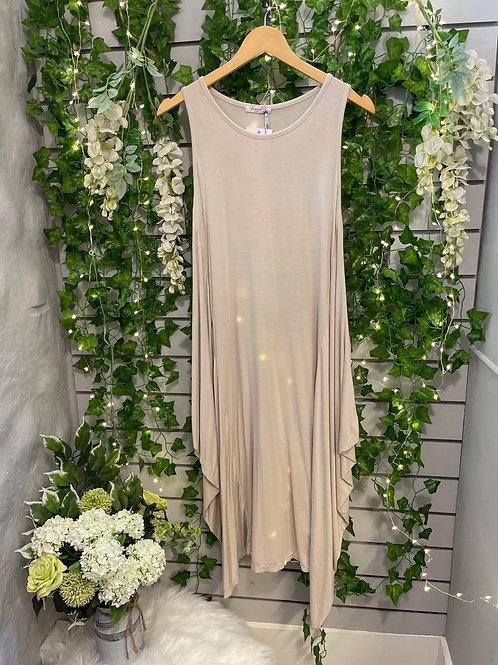 Magic dress beige