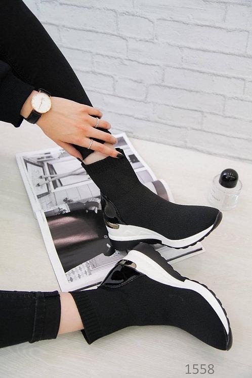 Sock wedge boot