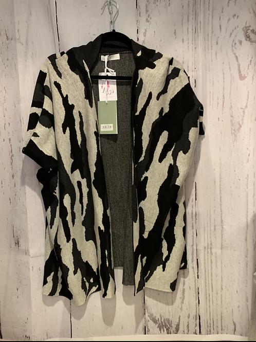 Zebra waist coat
