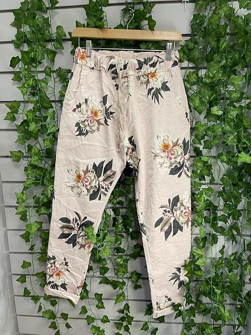 Floral magic trouser