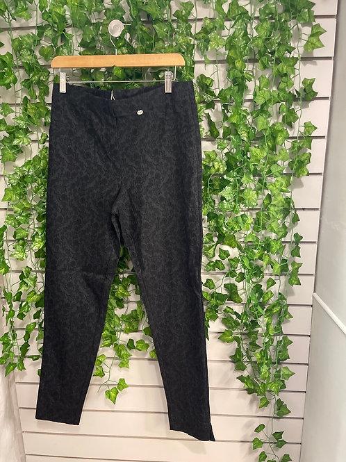 Black stretch trousers