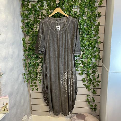 Sun moon dress
