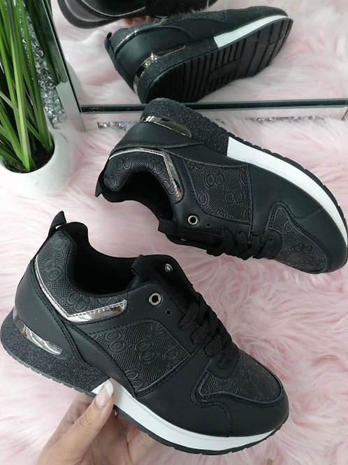 Black inspired trainers