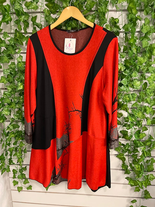 Tunic branch top