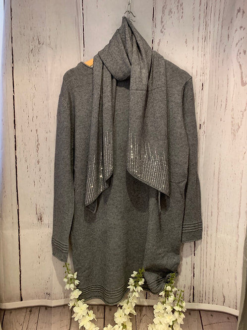 Sparke scarf tunic