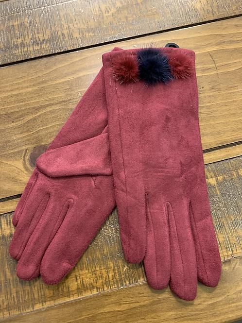3 Pom pom gloves