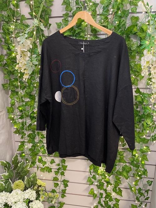 Black circle top