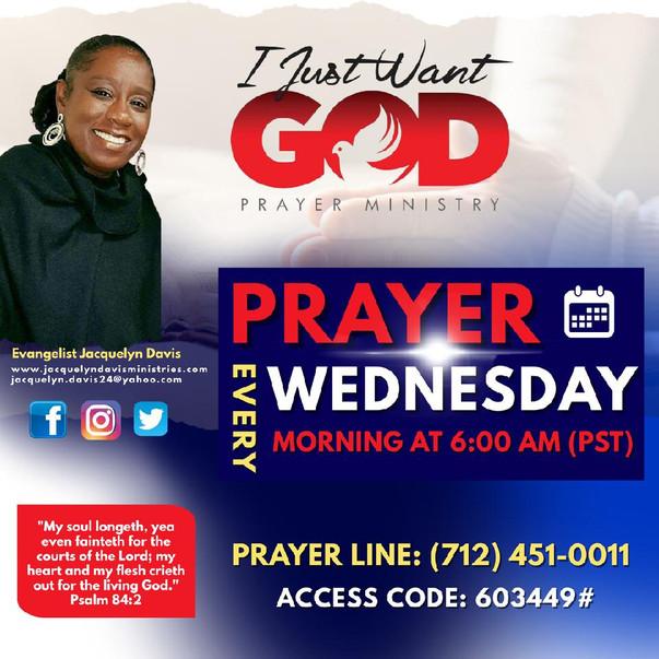 Wednesday Prayer Line