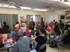 Painting Party for Faculty