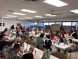 Painting Party for Makor Shul