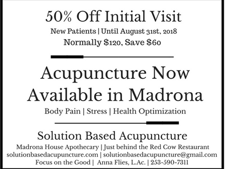 Special for New Patients in Madrona