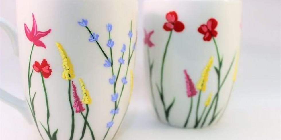 Design a Mug (Adult Edition) with Kelly Ongena
