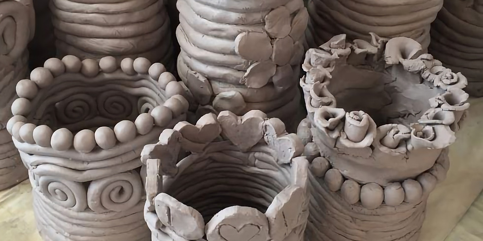 Pottery Hand building with Robert Boyd (6 Weeks)