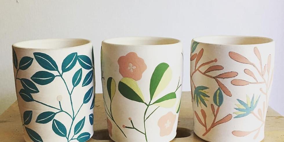Design a Mug (Adult Edition) with Megan Colley