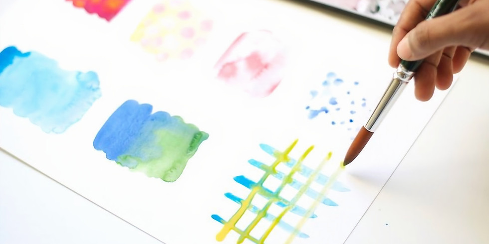 Beginner Watercolour with Megan Colley (2 workshops)