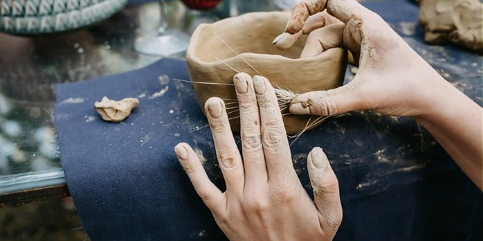 Pottery Hand building with Heather Cnockaert 1 workshop